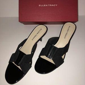 Ellen Tracy ET-Hunter Black Sandals - Like New